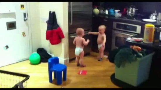 Video of Twin Baby Boys Talking