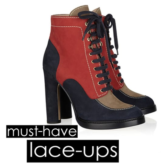 782eeeb8ff3 Fall 2011 Shoe Trends  Lace-Up Boots and Booties