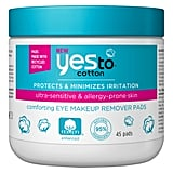 Yes to Cotton Comforting Eye Makeup Remover Pads