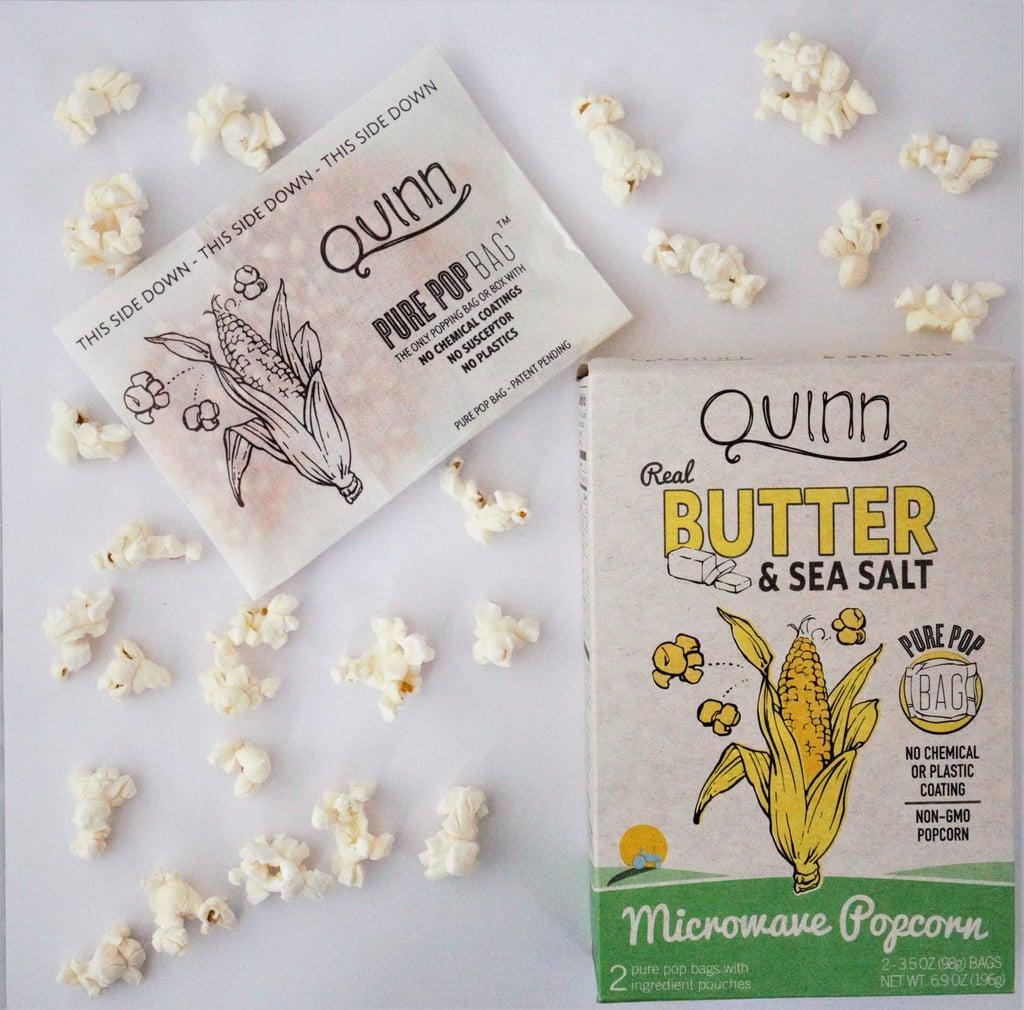 Quinn Microwave Popcorn   POPSUGAR Fitness