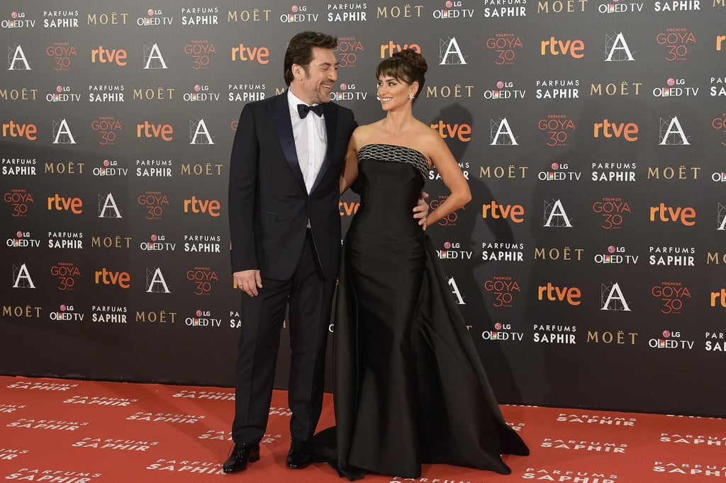 The happy couple attended the Goya Cinema Awards in Madrid in 2016, where they shared a knowing, loving glance on the red carpet.
