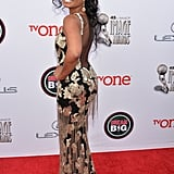Tatyana Ali walked the red carpet before winning the outstanding actress in a daytime drama series award for her role on The Young and the Restless.