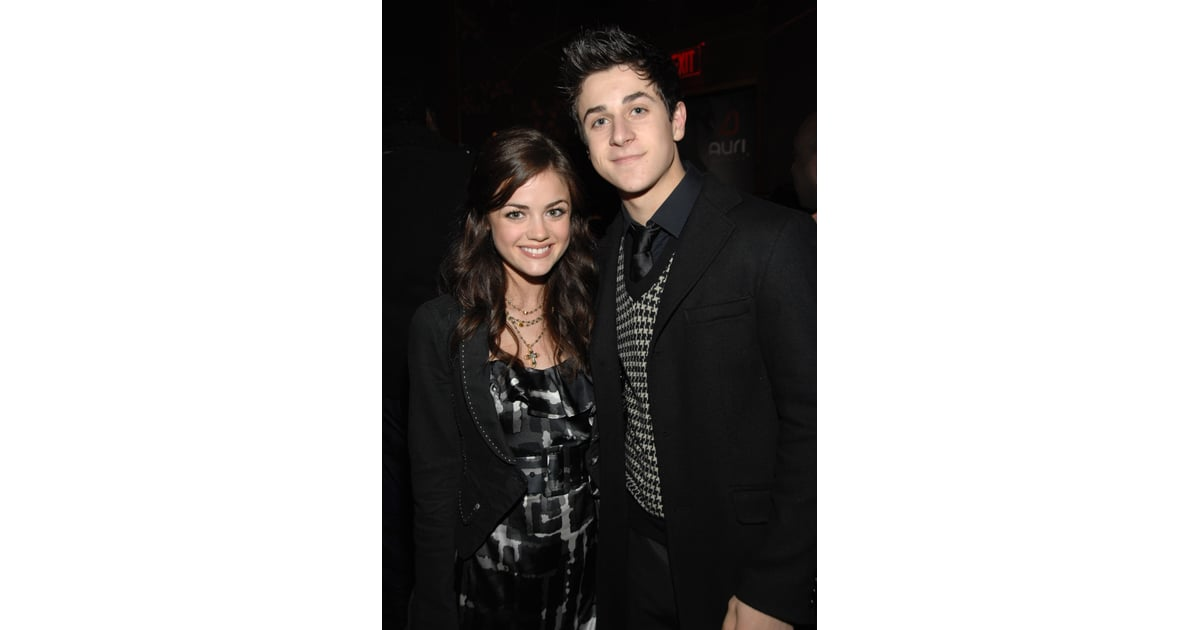 David Henrie and Lucy Hale | Celebrity Couples Who Met on ... Lucy Hale And David Henrie 2017