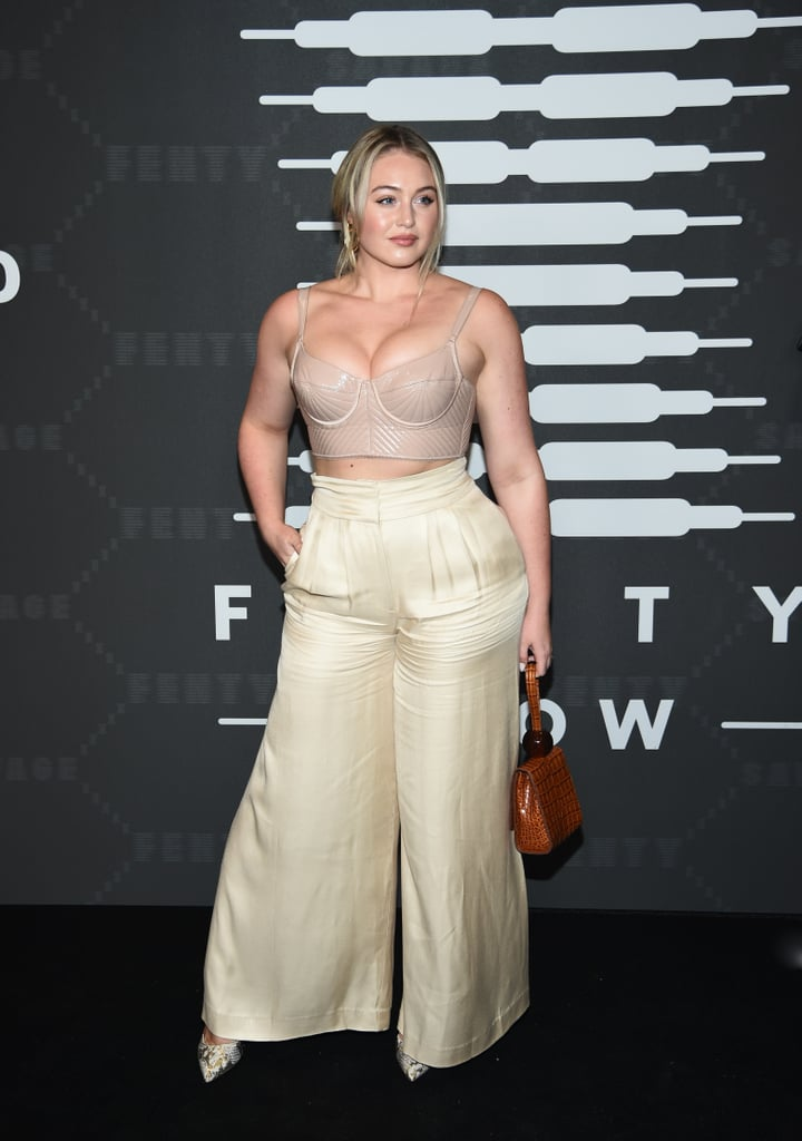 Iskra Lawrence at the Savage x Fenty New York Fashion Week Show