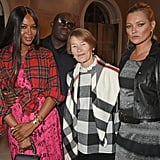 With Edward Enninful and Glenda Jackson.
