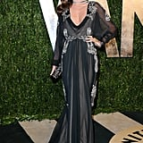 Miranda Kerr arrived at the Vanity Fair Oscar party on Sunday night.