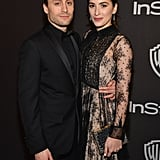 Kieran Culkin and Jazz Charton