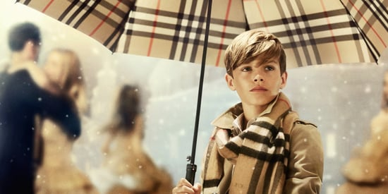 Burberry's Holiday Ad Is Four Minutes Of Smiling, Romeo Beckham Cuteness
