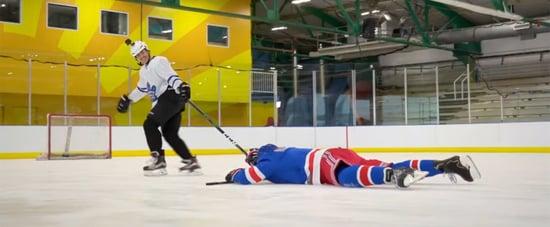 Watch Justin Bieber Teach Jimmy Fallon How to Play Hockey