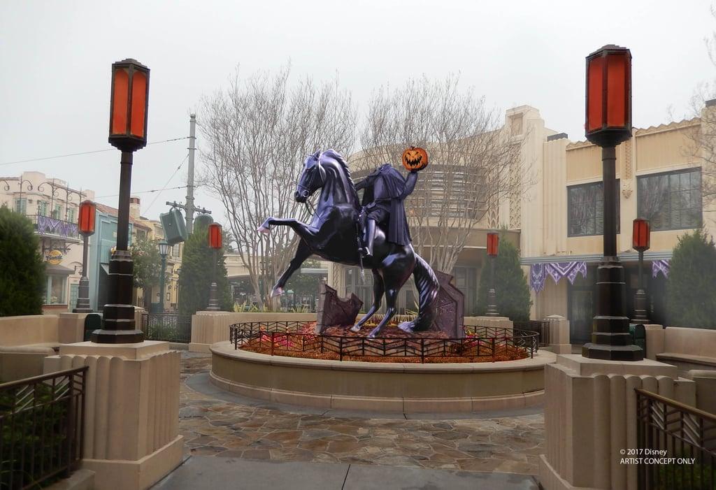 The Headless Horseman Will Haunt Buena Vista Street