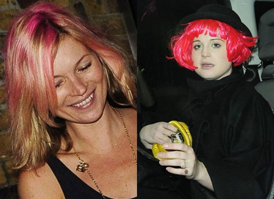 Photos Of Kate Moss And Kelly Osbourne at Lila Grace's Party