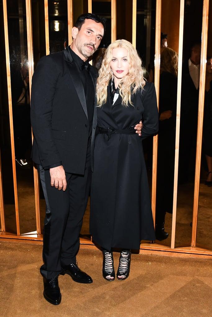 Riccardo Tisci and Madonna
