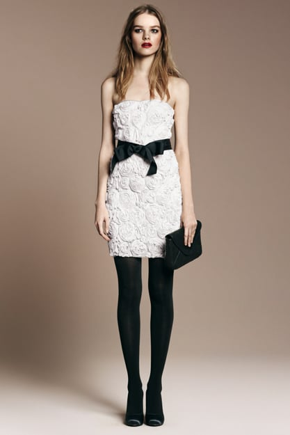 Romantic Flower Dress 70 Stockings 16 Chain Clutch