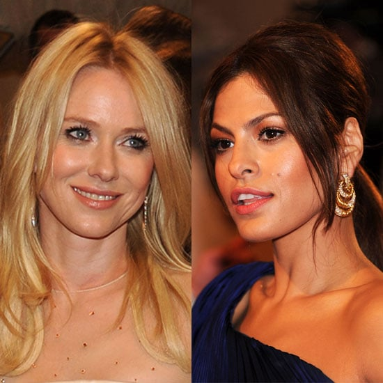 Eva Mendes and Naomi Watts Named Pantene Spokeswomen