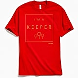 Harry Potter Quidditch I'm a Keeper Tee