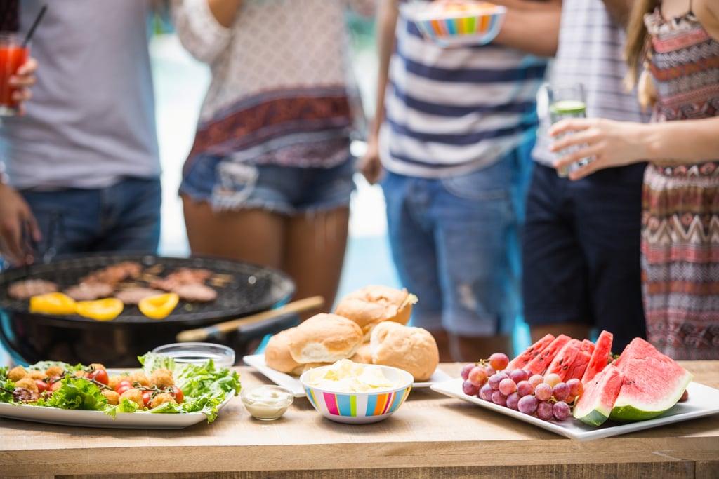 Invite Friends Over For a Barbecue