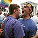 """Same sex marriage is now irrefutably legal in all fifty states! The Supreme Court made the right decision, now what's next? Click the link in our profile for a look ahead. ❤️"""