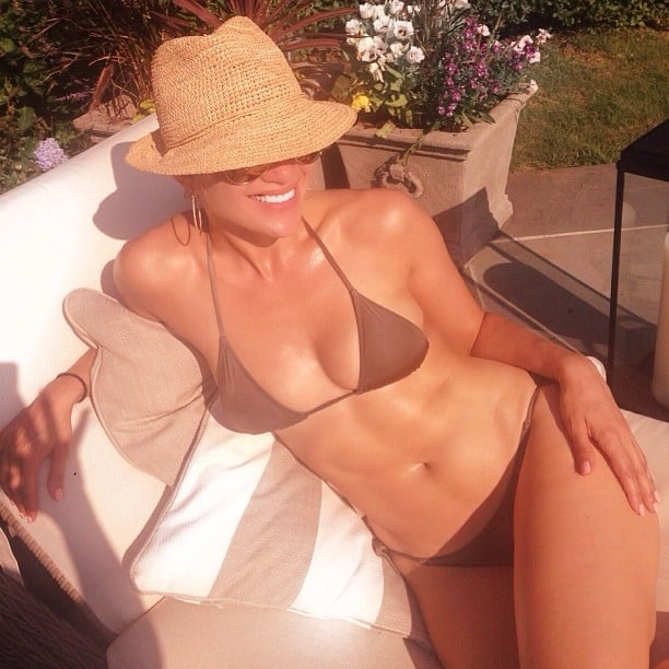 J Lo flaunted her bikini body. Source: Instagram user jlo
