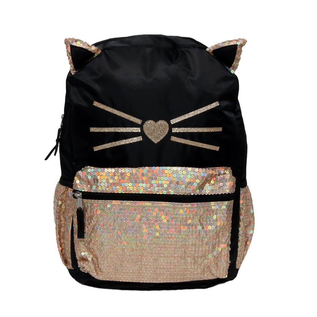 Sequin Critters Prettiest Kitty Backpack