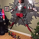 """I brought in re-enforcement to get FLE the 'Elf on the Shelf' under control."""