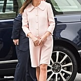 Kate at Commonwealth Service in 2015