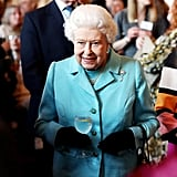 Queen Elizabeth II's 2019 reception for the 100th anniversary of the National Council For Voluntary Organizations.