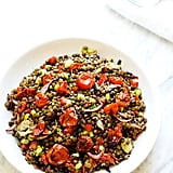 Roasted Garlic and Tomato Lentil Salad