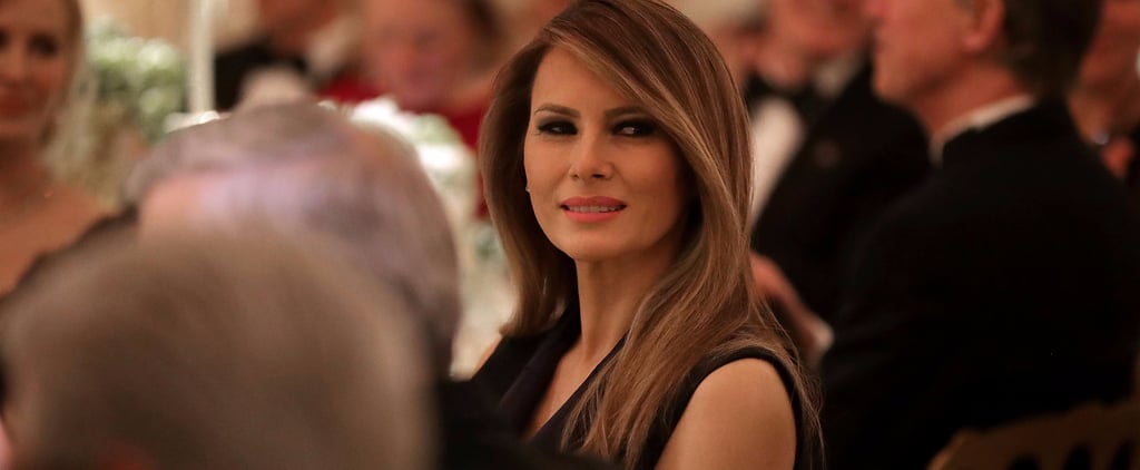 Melania Trump's Little Black Dinner Dress Is as Classic as They Come