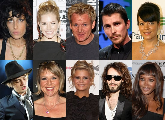 Who Is Your Most Scandalous British Celeb Of 2008?
