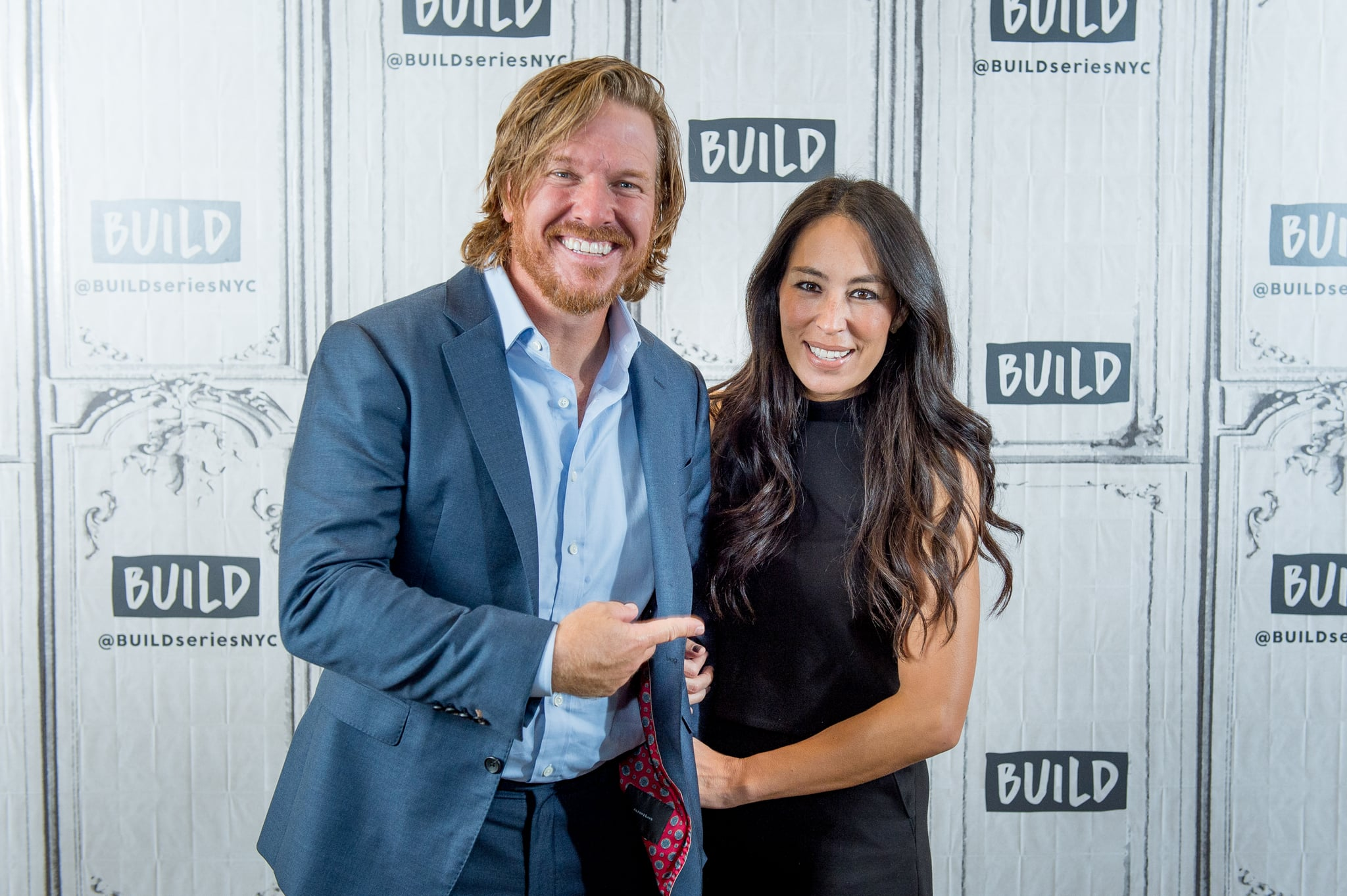 NEW YORK, NY - OCTOBER 18:  Chip and Joanna Gaines discuss