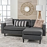 Christopher Knight Home Wilder Mid-Century 2-Piece Chaise Sectional Sofa