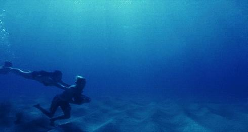 You actually thought you could go underwater rock running (also without dying).