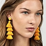 BaubleBar Gabriela Stud Tassel Earrings
