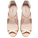 Zara's Cross Strap Sandals ($90) have that perfect nude hue that will go with just about any bridesmaid dress — and anything else in your closet.