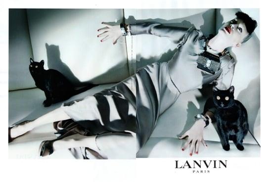 Lanvin 2009 Fall/Winter Ad Campaign