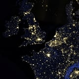 Great Britain and its neighbor France as seen by the Suomi National Polar-orbiting Partnership satellite.