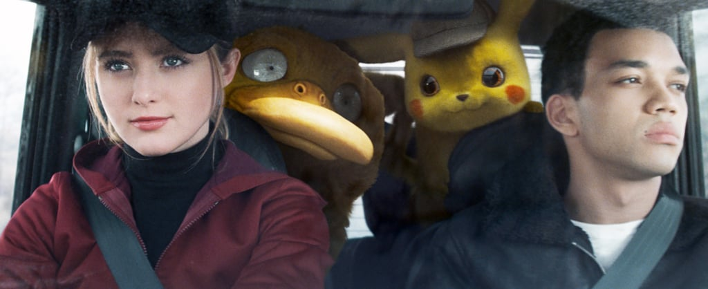 Tim Goodman and Lucy Stevens From Detective Pikachu