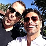 """Dave: """"Happy birthday to my handsome brother @JohnStamos - love you. Your brother, Dave. #fullhouse"""""""