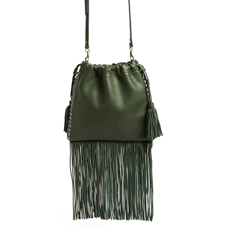 Rebecca Minkoff Fringe Drawstring Crossbody Bag ($245)