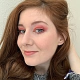 10 a.m.: After Applying Prep + Prime and Full Lids of Shadow
