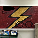 Harry-Inspired Chalkboard Art
