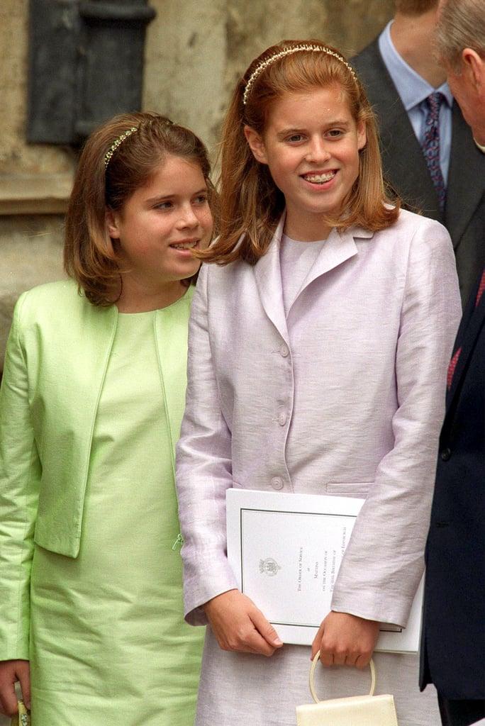 Princess Eugenie and Princess Beatrice Handbag Instagram