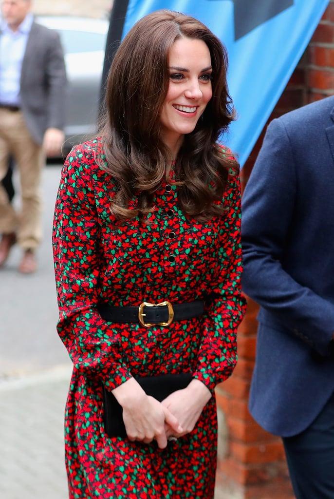Kate Middleton Vanessa Seward Dress at Christmas Party 2016