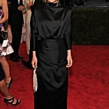 Mary-Kate Olsen wore a dress by The Row.