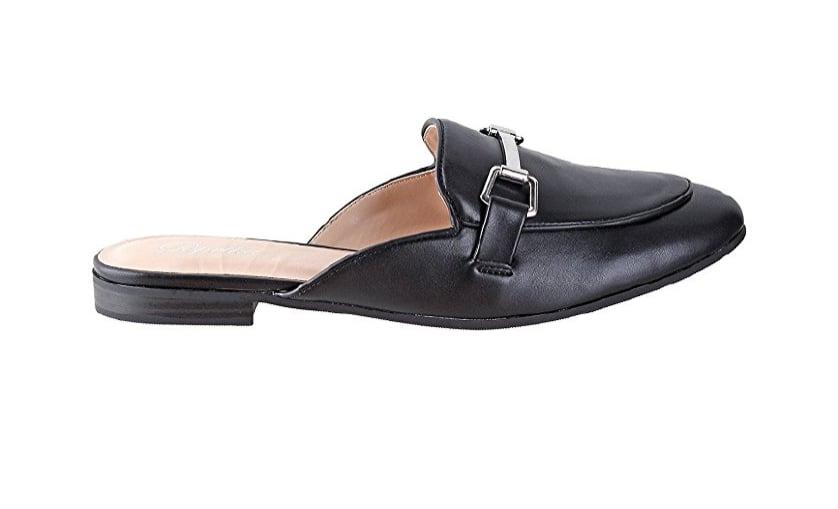 Paprika Backless Loafer Flats