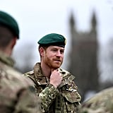 Prince Harry in Uniform at Green Beret Presentation 2019