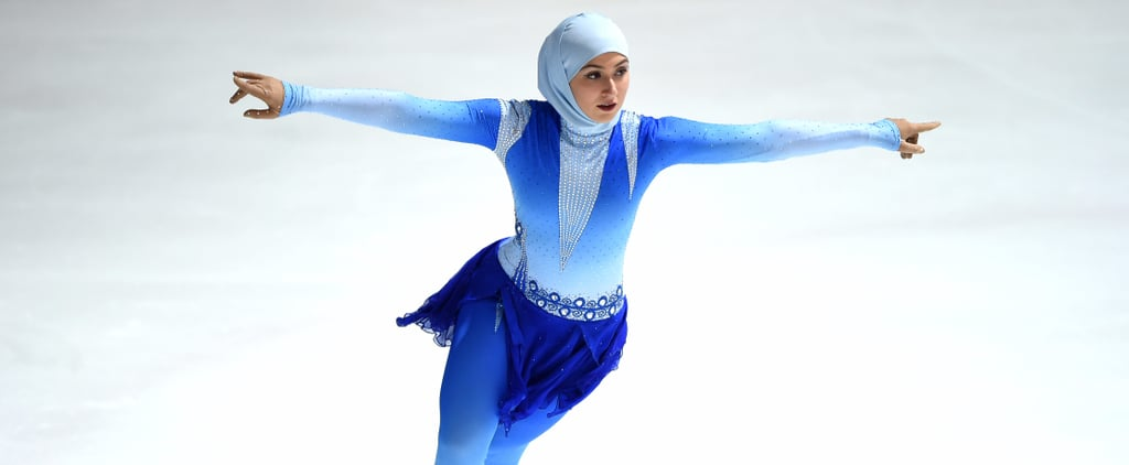 Meet the First Female Figure Skater to Compete Internationally Wearing a Headscarf