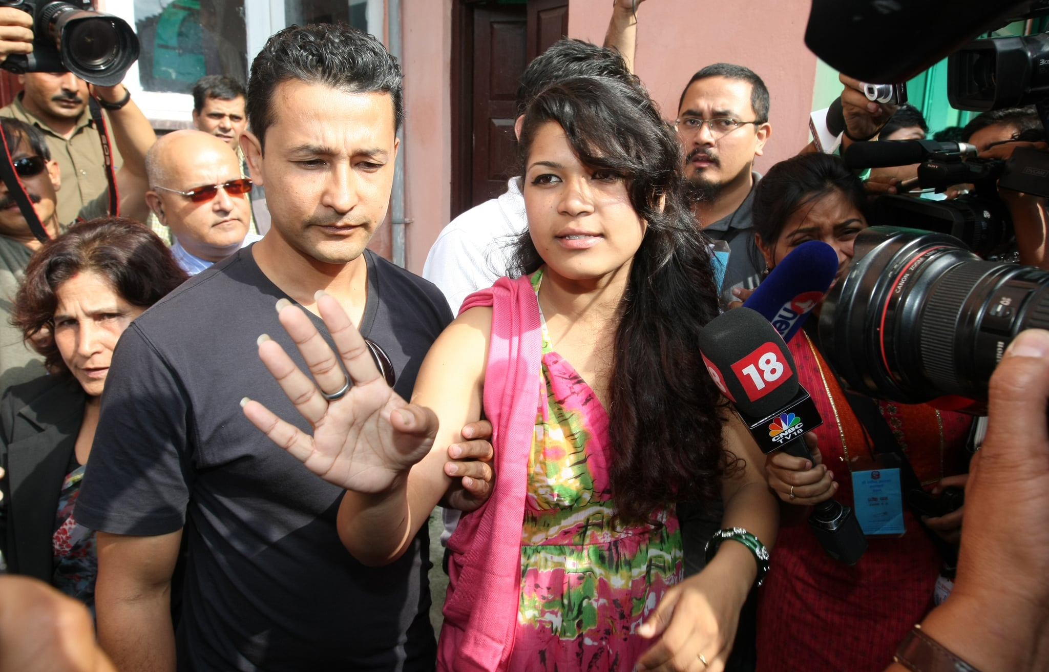Nepali Nihita Biswas, 21, who reportedly married