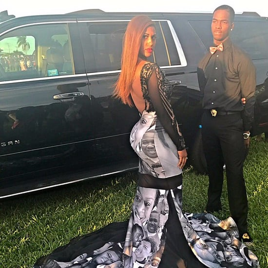 Teen's Prom Dress Honors Black Lives Matter