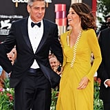 George Clooney and Marisa Tomei got glamorous for the August 2011 Cannes Film Festival.